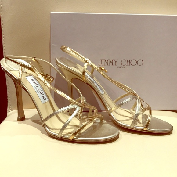 Gold Jimmy Choo Heels | Poshmark